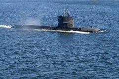 Swedish attack submarine HMS Uppland Royalty Free Stock Photos