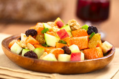 Sweet Potato and Apple Salad Royalty Free Stock Photos