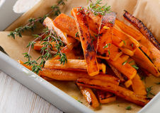 Sweet potato fries Stock Image