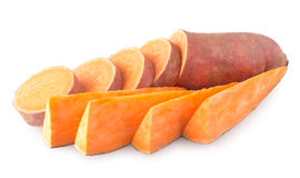 Sweet potatoes Stock Photos