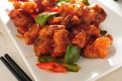 Sweet sour pork Stock Photography