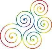 Swirl design Stock Images