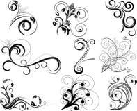Swirl elements Stock Photography