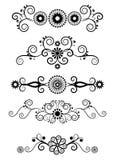 Swirl Elements Stock Images