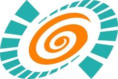 Swirl logo Royalty Free Stock Photos