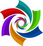 Swirl logo Royalty Free Stock Photo