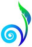 Swirl plant Stock Photo