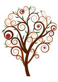 Swirl tree Royalty Free Stock Images