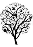 Swirl tree Royalty Free Stock Image