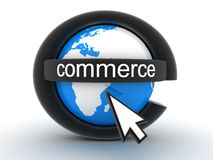 Symbol e-commerce Royalty Free Stock Images