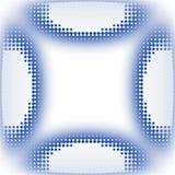 Symbolen cirklar dynamisk textur Royaltyfri Foto