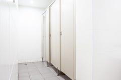 Türen von den Toiletten Lizenzfreie Stockbilder