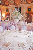 Table set for a special occasion Royalty Free Stock Photos