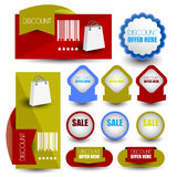 Tag or banner Royalty Free Stock Image