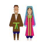 Tajikistan national dress Royalty Free Stock Photo