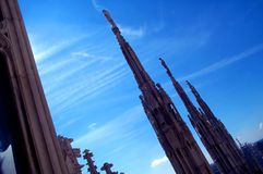 tak för 2 domkyrka Arkivfoto