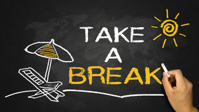Take a break concept Stock Photography