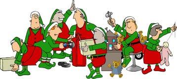 Taller de Santa Imagen de archivo libre de regalías
