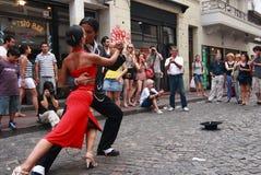 Tango in Buenos aires Royalty-vrije Stock Foto's