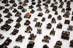 Tanks and Trucks Royalty Free Stock Photo