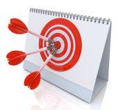 Target Date Stock Image