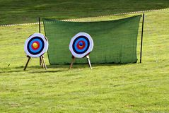 Targets. Archery. Game. Sport. recreation. leisure Stock Image