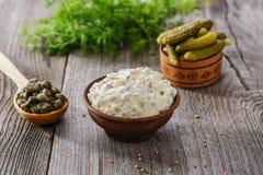 Tartar sauce Royalty Free Stock Image