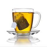 Tasse de sachet à thé d'isolement Photo libre de droits