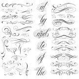 Tattoo elements Stock Image
