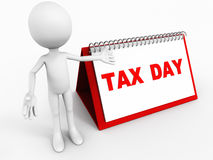 Tax date Stock Image
