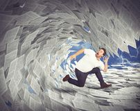 Tax wave Stock Photography