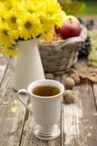 Tea in a flu season Stock Photos