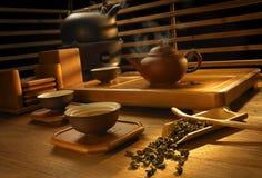 Tea making set Stock Images