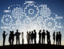 Team Teamwork Goals Strategy Vision Business Support Concept Stock Images