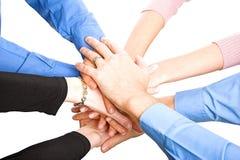Teams Hands Royalty Free Stock Image