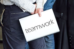 Teamwork is the key Royalty Free Stock Image