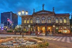 Teatr Narodowy Costa Rica w San Jose Fotografia Royalty Free