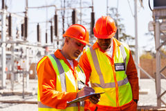 Technician and engineer Stock Photography