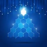 Technology Xmas Tree Stock Photo