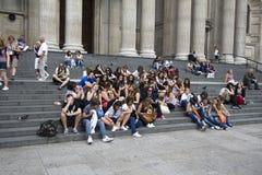 Teenage Tourists Stock Image
