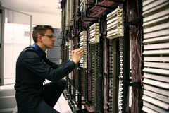 Telecommunications Engineer Royalty Free Stock Photo