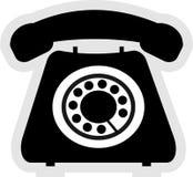 Telefon-Ikone Lizenzfreies Stockfoto