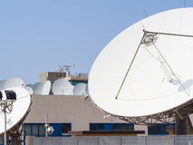 Teleport satellite communications Stock Photography