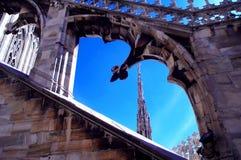 Telhado 1 da catedral Imagens de Stock Royalty Free