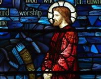 The Temptation of Jesus Stock Photo