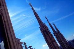 Tetto 2 della cattedrale Fotografia Stock
