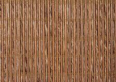 Texture a bamboo with fabric weaving Royalty Free Stock Photography
