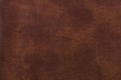 Texture of dark brown leather Royalty Free Stock Image