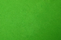 Textured green pool table Stock Photography
