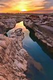 Sunrise at canyon Royalty Free Stock Photos